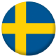 Sweden Country Flag 25mm Pin Button Badge